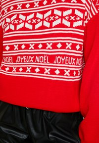 Missguided - CHRISTMAS FAIRISLE JUMPER - Jumper - red - 4