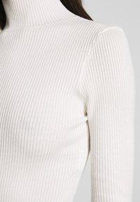 Missguided - BASIC HIGH NECK - Trui - white - 5