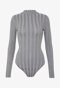 Missguided - EXTREME CREW NECK BODYSUIT - Svetr - grey - 4