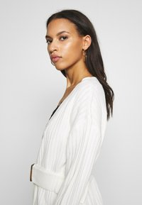 Missguided - EXTREME RIB BELTED CARDIGAN - Kofta - cream - 3