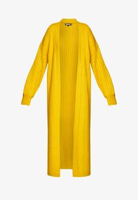 Missguided - EXTREME BALLOON SLEEVE MAXI  - Gilet - mustard - 4