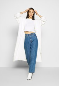 Missguided - EXTREME BALLOON SLEEVE MAXI  - Vest - cream - 1
