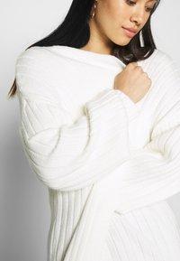 Missguided - EXTREME BALLOON SLEEVE MAXI  - Vest - cream - 5