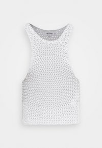 Missguided - CHUNKY RACER - Top - white - 0