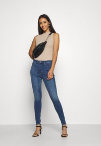 Missguided - CUT OUT BACK BODYSUIT - Top - taupe - 1