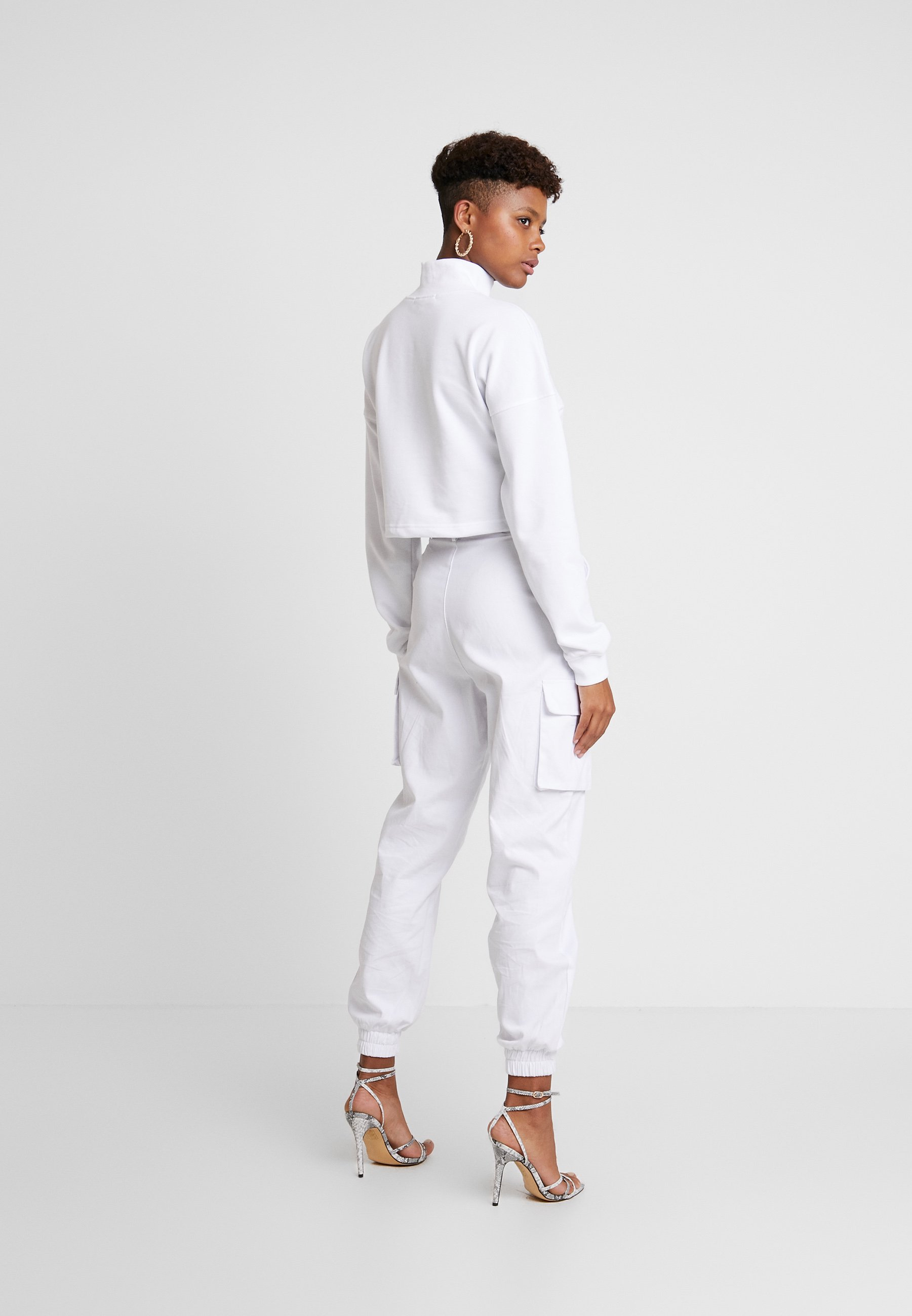 SweatSweatshirt Branded Cropped Cropped White Branded Branded White Missguided Cropped SweatSweatshirt Missguided Missguided N0wOZPk8Xn