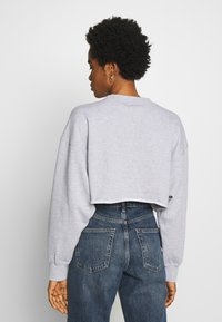 Missguided - CROPPED RAW HEM - Sweatshirt - grey - 2