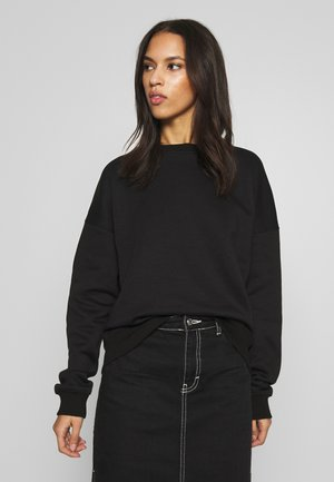 BASIC OVERSIZED SWEAT - Sudadera - black