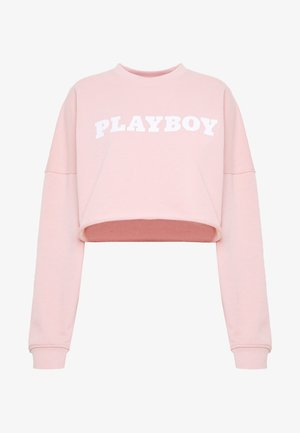 PLAYBOY LONG SLEEVE LOUNGE  - Mikina - pink