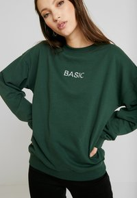 Missguided - EMBROIDERED - Sweatshirt - green - 3
