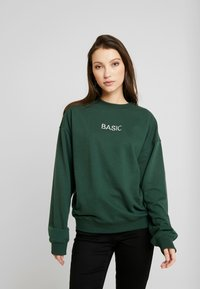 Missguided - EMBROIDERED - Sweatshirt - green - 0