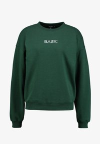 Missguided - EMBROIDERED - Sweatshirt - green - 4