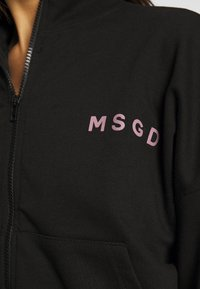 Missguided - JOGGER AND JACKET SET - Zip-up hoodie - black - 8