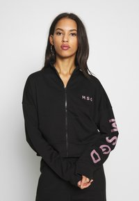 Missguided - JOGGER AND JACKET SET - Zip-up hoodie - black - 3