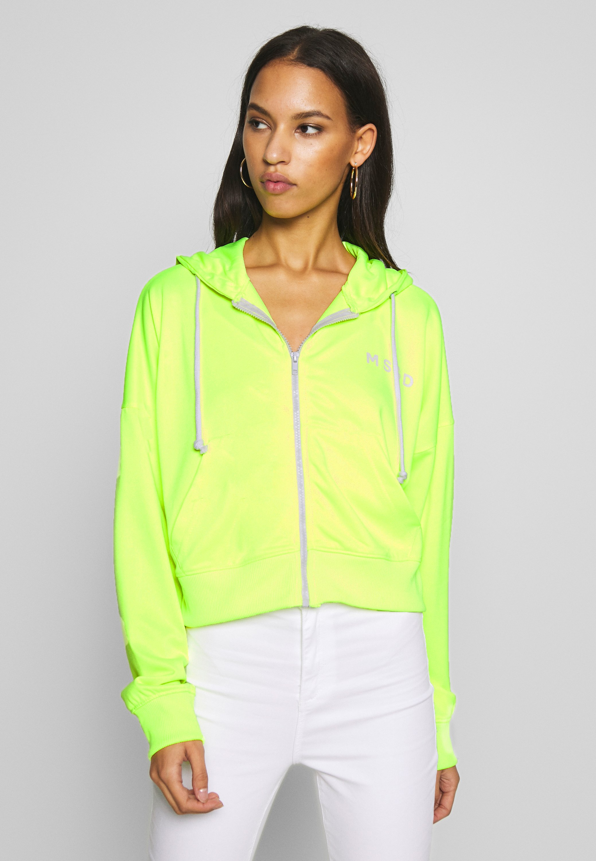 Missguided ZIP FRONT CORAL HOODIE veste en sweat zippée