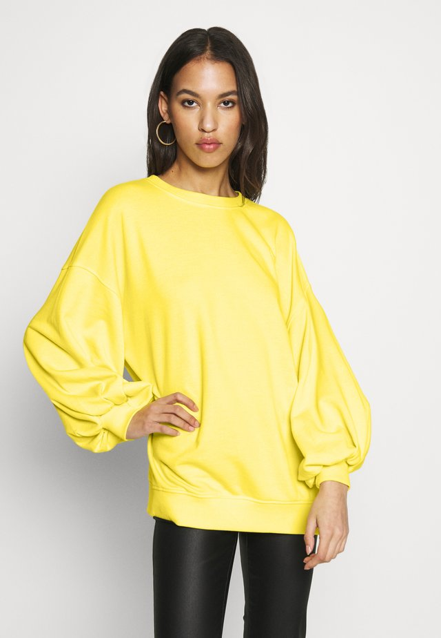 EXTREME OVERSIZED - Sweatshirt - mellow yellow