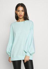 Missguided - EXTREME OVERSIZED - Sweatshirt - pastel green - 0