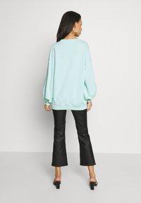 Missguided - EXTREME OVERSIZED - Sweatshirt - pastel green - 2
