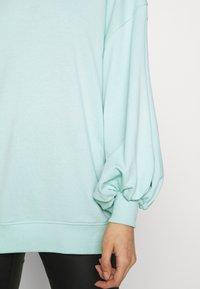 Missguided - EXTREME OVERSIZED - Sweatshirt - pastel green - 5