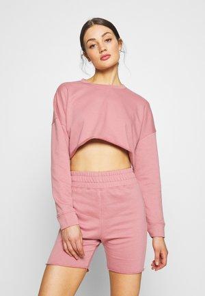 CYCLING SET - Sweatshirt - pink