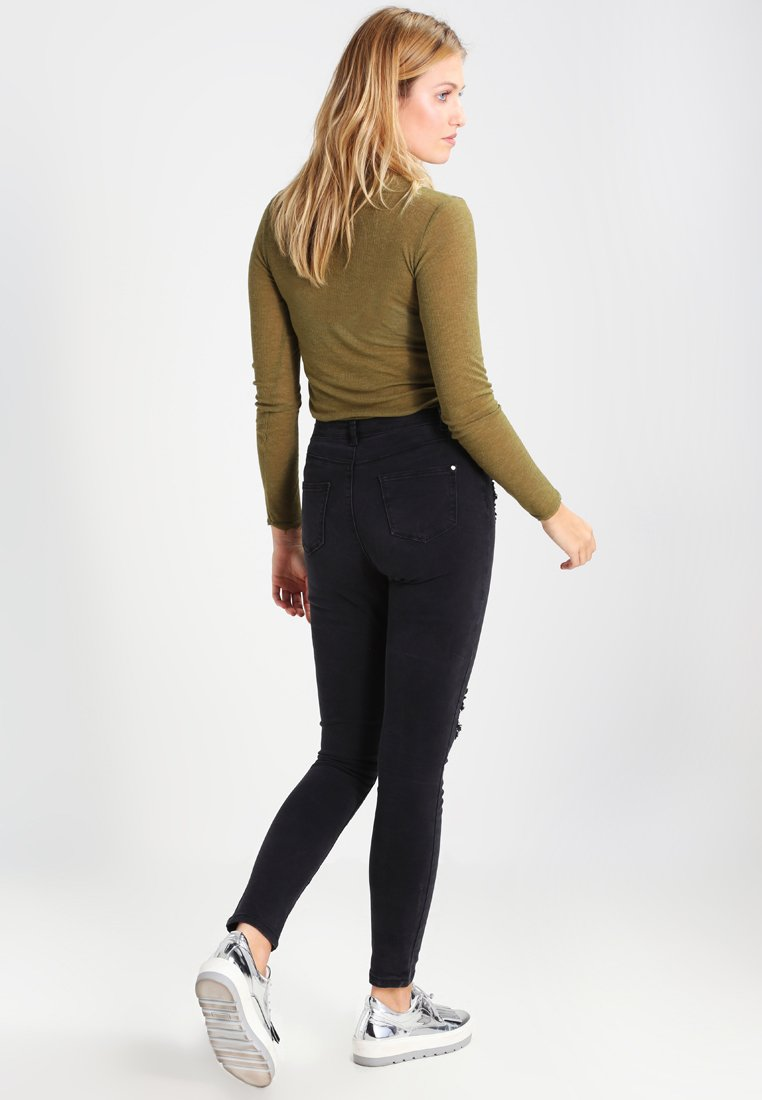 Missguided SINNER  - Jeansy Skinny Fit - black