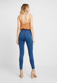 Missguided - VICE STONEWASH - Jeans Skinny Fit - stone - 3