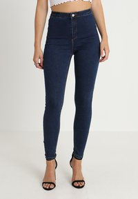 Missguided - VICE HIGHWAISTED - Jeans Skinny Fit - vintage blue - 0