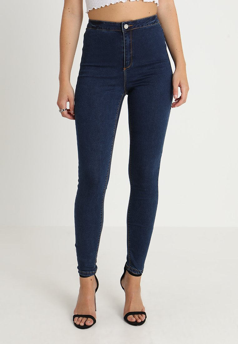 Missguided - VICE HIGHWAISTED - Jeans Skinny Fit - vintage blue
