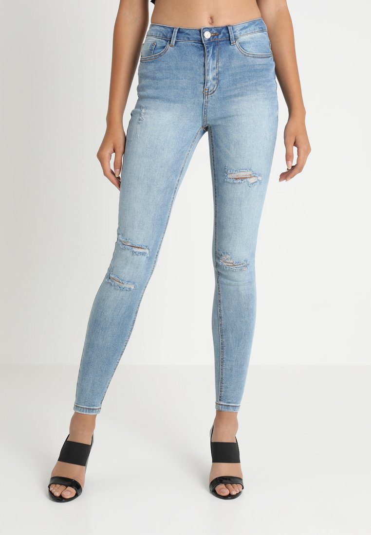 Missguided - SINNER WAISTED AUTHENTIC - Jeans Skinny Fit - blue