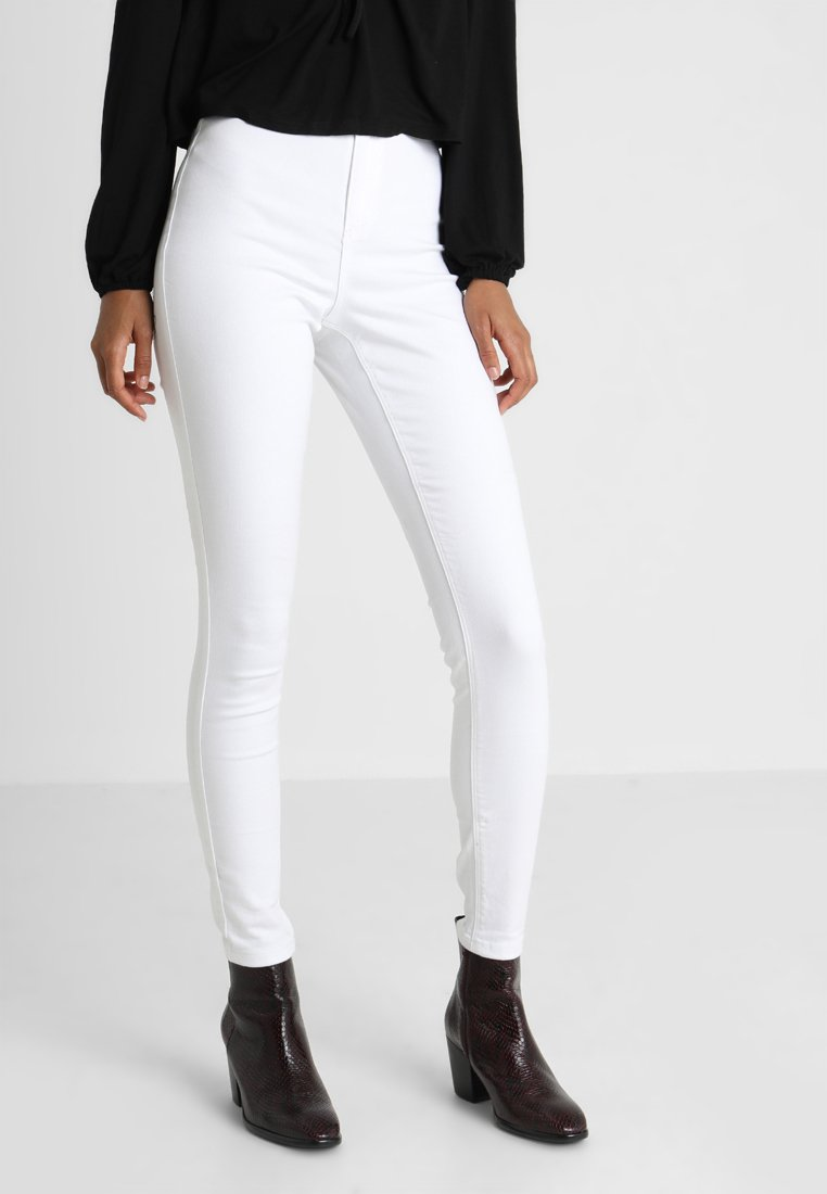 Missguided - VICE HIGH WAISTED  - Jeans Skinny Fit - white