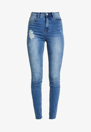 SINNER CLEAN DISTRESSED - Skinny džíny - blue