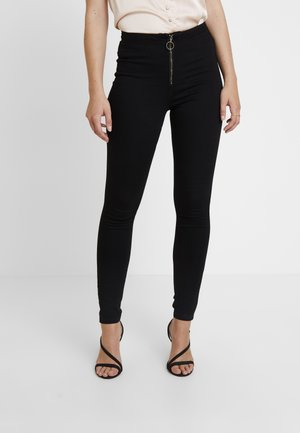 RING ZIP OUTLAW - Farkkuleggingsit - black