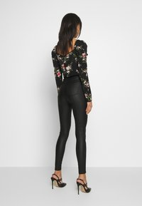 Missguided - VICEHIGHWAISTED  - Trousers - black - 2