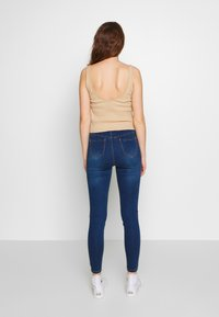 Missguided - VICE EXPOSED ZIP BUTTON DETAIL - Jeans Skinny - new indigo - 2