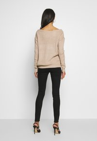 Missguided - SINNER EXTREME  - Skinny džíny - black - 2