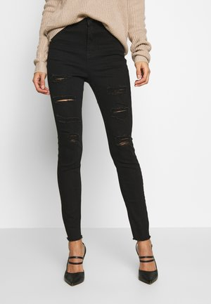 SINNER EXTREME  - Jeansy Skinny Fit - black