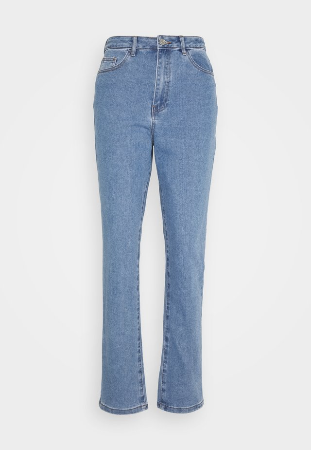 HIGHWAISTED COMFORT STRETCH  - Relaxed fit jeans - blue