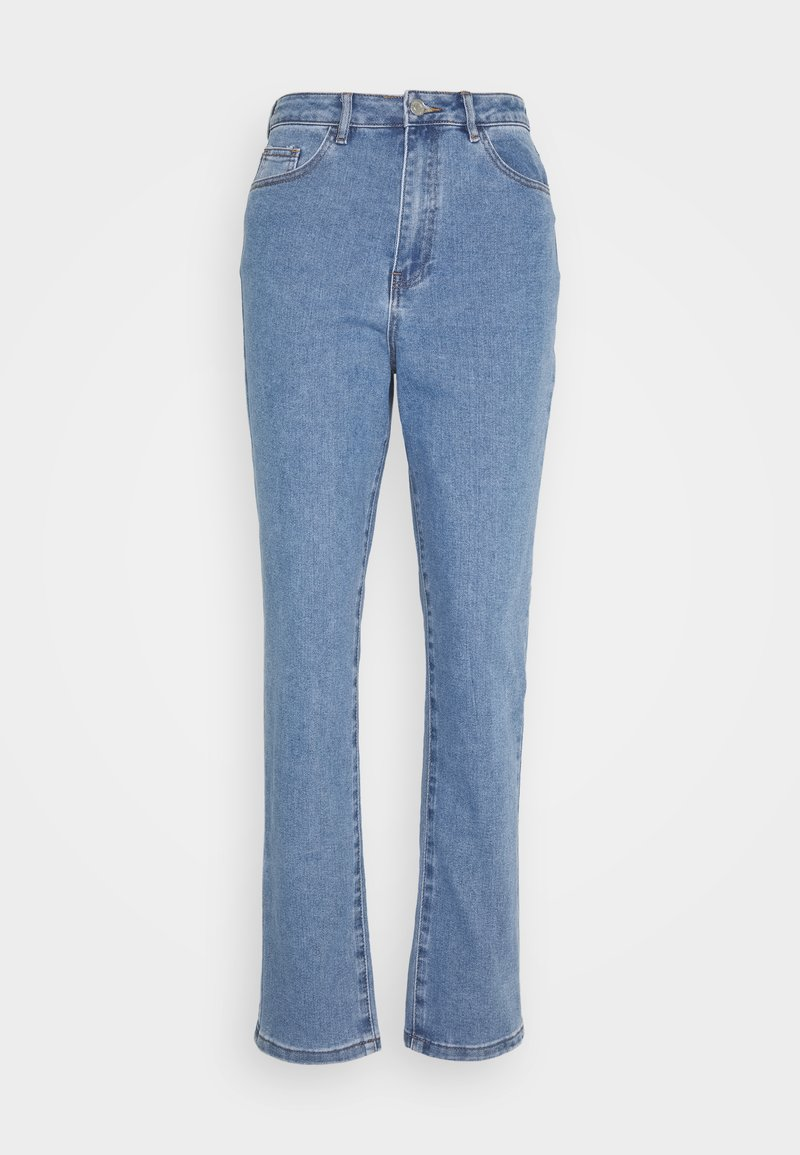 Missguided - HIGHWAISTED COMFORT STRETCH  - Jean boyfriend - blue