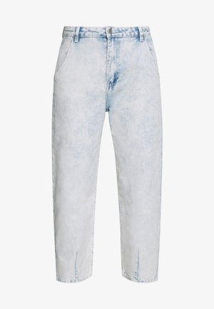 HIGHWAISTED SLOUCH JEAN  - Jeansy Relaxed Fit - blue bleach