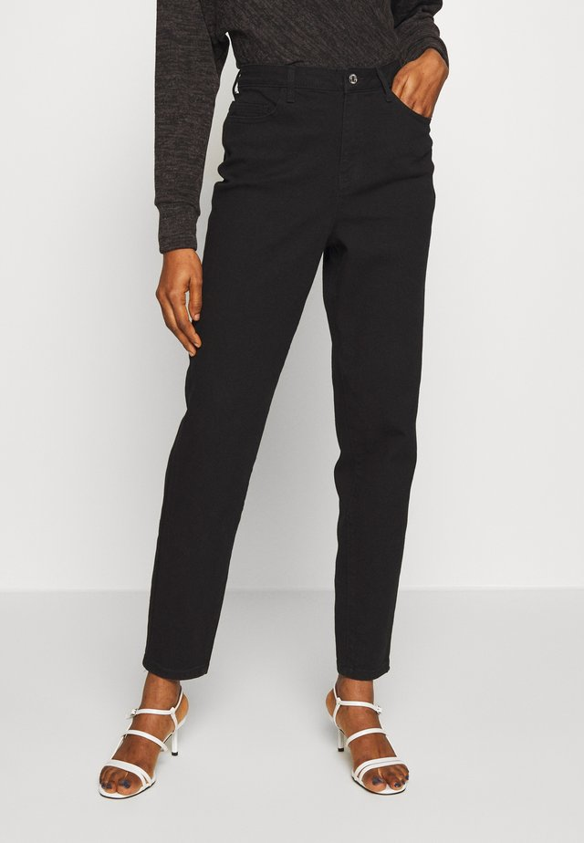 COMFORT STRETCH MOM - Skinny džíny - black