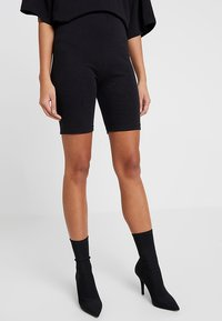 Missguided - EXCLUSIVE CYCLING 2 PACK - Kraťasy - black - 1