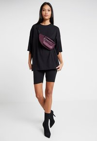 Missguided - EXCLUSIVE CYCLING 2 PACK - Kraťasy - black - 0
