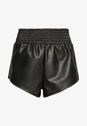DEEP ELASTICATED WAIST BAND RUNNER - Shorts - black