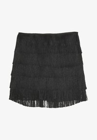 Missguided - FESTIVAL EXCLUSIVE TASSEL MINI  - Short - black - 0