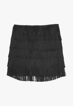 FESTIVAL EXCLUSIVE TASSEL MINI  - Shorts - black