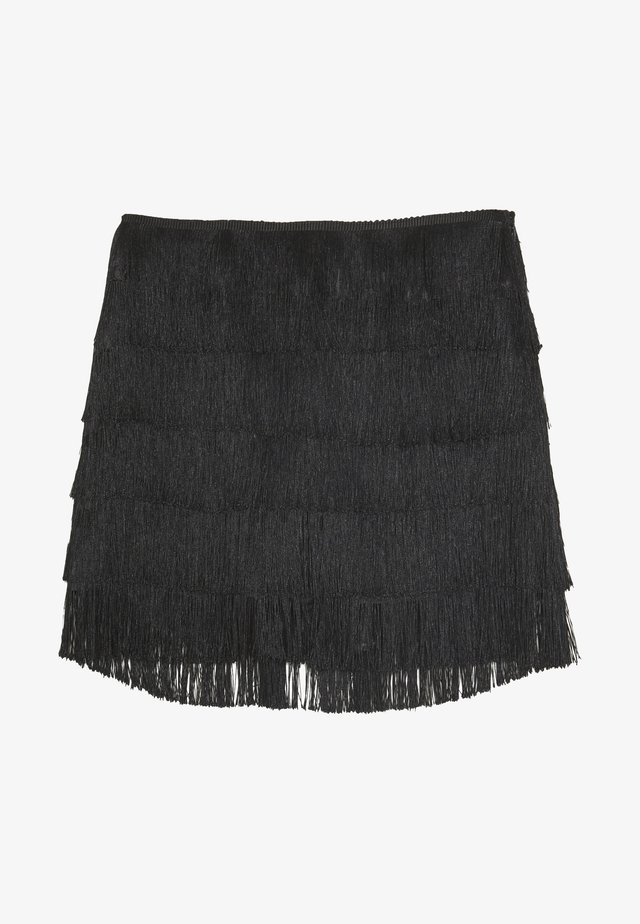 FESTIVAL EXCLUSIVE TASSEL MINI  - Shorts - black