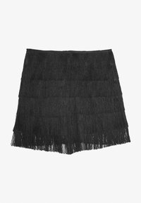 Missguided - FESTIVAL EXCLUSIVE TASSEL MINI  - Short - black