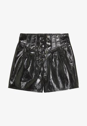 FESTIVAL EXCLUSIVE LACE UP CORSET  - Shorts - black