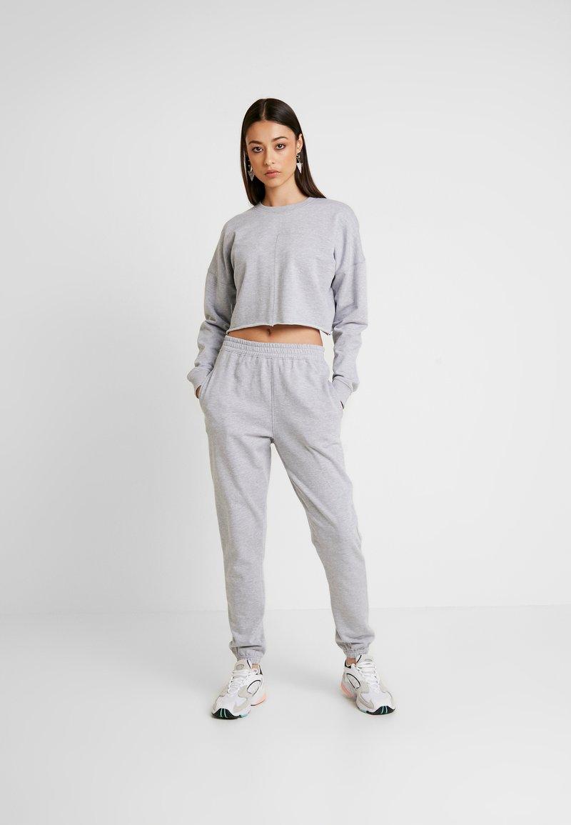 Missguided - SWEAT SET - Sweatshirt - grey