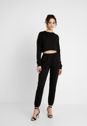 SWEAT SET - Sweater - black